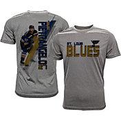 Levelwear Men's St. Louis Blues Alex Pietrangelo #27 Grey Spectrum T-Shirt