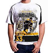 Levelwear Men's Boston Bruins Zdeno Chara #33 Center Ice White T-Shirt