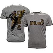 Levelwear Men's Boston Bruins Zdeno Chara #33 Grey Spectrum T-Shirt