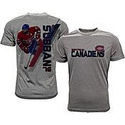 Levelwear Men's Montreal Canadiens P.K. Subban #76 Grey Spectrum T-Shirt