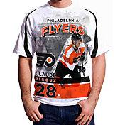 Levelwear Men's Philadelphia Flyers Claude Giroux #28 Center Ice White T-Shirt