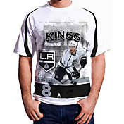 Levelwear Men's Los Angeles Kings Drew Doughty #8 Center Ice White T-Shirt