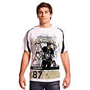 Levelwear Men's Pittsburgh Penguins Sidney Crosby #87 Center Ice White T-Shirt