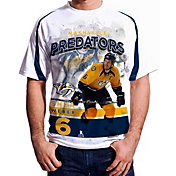 Levelwear Men's Nashville Predators Shea Weber #6 Center Ice White T-Shirt