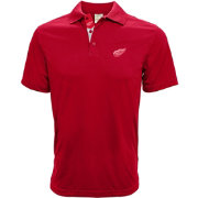 Levelwear Men's Detroit Red Wings Red Helium Polo