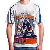 Levelwear Men's New York Islanders John Tavares #91 Center Ice White T-Shirt