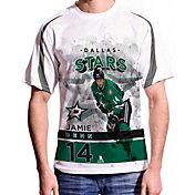 Levelwear Men's Dallas Stars Jamie Benn #14 Center Ice White T-Shirt