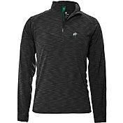 Levelwear Men's Dallas Stars Mobility Charcoal Quarter-Zip Shirt