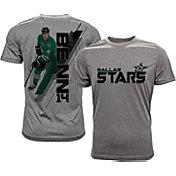 Levelwear Men's Dallas Stars Jamie Benn #14 Grey Spectrum T-Shirt