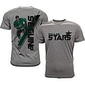 Levelwear Men's Dallas Stars Tyler Seguin #91 Grey Spectrum T-Shirt