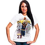 Levelwear Women's Cleveland Cavaliers LeBron James Center Court T-Shirt