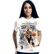 Levelwear Women's San Antonio Spurs Tony Parker Center Court T-Shirt
