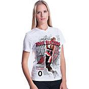 Levelwear Women's Portland Trail Blazers Damian Lillard Center Court T-Shirt