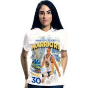 Levelwear Women's Golden State Warriors Steph Curry Center Court T-Shirt