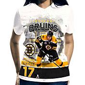 Levelwear Women's Boston Bruins Milan Lucic #17 Center Ice White T-Shirt