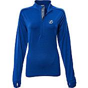 Levelwear Women's Tampa Bay Lightning Pacer Royal Quarter-Zip Shirt