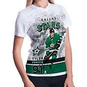 Levelwear Women's Dallas Stars Tyler Seguin #91 Center Ice White T-Shirt