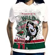 Levelwear Women's Minnesota Wild Zach Parise #11 Center Ice White T-Shirt