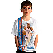 Levelwear Youth Oklahoma City Thunder Russell Westbrook Breakaway White T-Shirt