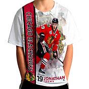 Levelwear Youth Chicago Blackhawks Jonathan Toews #19 Breakaway White T-Shirt