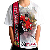 Levelwear Youth Chicago Blackhawks Patrick Kane #88 Breakaway White T-Shirt