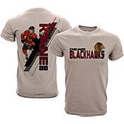 Levelwear Youth Chicago Blackhawks Patrick Kane #88 Charcoal Spectrum T-Shirt