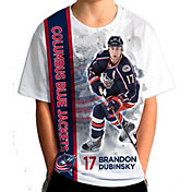 Levelwear Youth Columbus Blue Jackets Brandon Dubinsky #17 Breakaway White T-Shirt