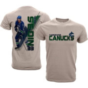 Levelwear Youth Vancouver Canucks Henrik Sedin #33 Charcoal Spectrum T-Shirt