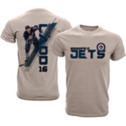 Levelwear Youth Winnipeg Jets Andrew Ladd #16 Charcoal Spectrum T-Shirt