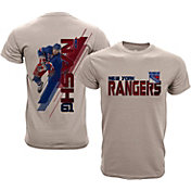 Levelwear Youth New York Rangers Rick Nash #61 Charcoal Spectrum T-Shirt