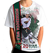 Levelwear Youth Minnesota Wild Ryan Suter #20 Breakaway White T-Shirt