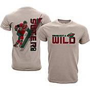 Levelwear Youth Minnesota Wild Ryan Suter #20 Charcoal Spectrum T-Shirt