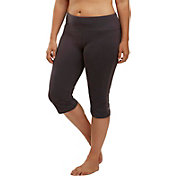 Marika Curves Women's Plus Size High-Rise Tummy Control Capris