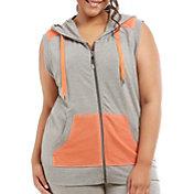 Marika Curves Women's Plus Size Jenna Hooded Vest