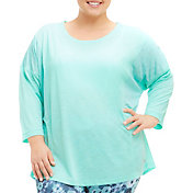 Marika Curves Women's Plus Size Emma Three Quarter Length Sleeve Shirt