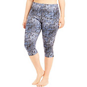 Marika Curves Women's Plus Size Printed Capris