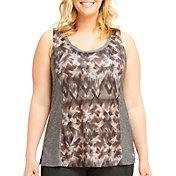 Marika Curves Women's Plus Size Riley Paneled Tank Top