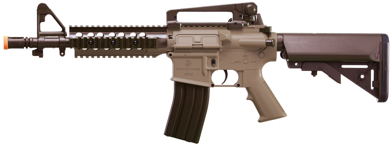 marines dual power airsoft gun tan u0027s sporting goods