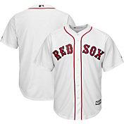 Majestic Boys' Replica Boston Red Sox Cool Base Home White Jersey