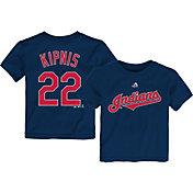 Majestic Infant Cleveland Indians Jason Kipnis #22 Navy T-Shirt