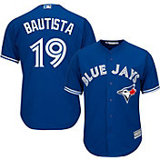 Majestic Men's Replica Toronto Blue Jays Jose Bautista #19 Cool Base Alternate Royal Jersey
