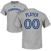 Majestic Men's Full Roster Toronto Blue Jays Grey T-Shirt