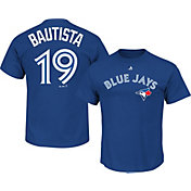 Majestic Men's Toronto Blue Jays Jose Bautista #19 Royal T-Shirt