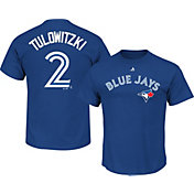 Majestic Men's Toronto Blue Jays Troy Tulowitzki #2 Royal T-Shirt