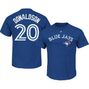 Majestic Men's Toronto Blue Jays Josh Donaldson #20 Royal T-Shirt