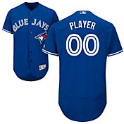 Majestic Men's Full Roster Authentic Toronto Blue Jays Flex Base Alternate Royal On-Field Jersey