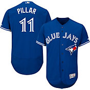 Majestic Men's Authentic Toronto Blue Jays Kevin Pillar #11 Alternate Royal Flex Base On-Field Jersey