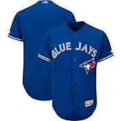 Majestic Men's Authentic Toronto Blue Jays Alternate Royal Flex Base On-Field Jersey