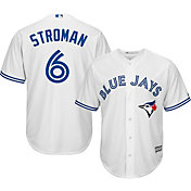 Majestic Men's Replica Toronto Blue Jays Marcus Stroman #6 Cool Base Home White Jersey