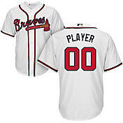 Majestic Men's Full Roster Cool Base Replica Atlanta Braves Home White Jersey